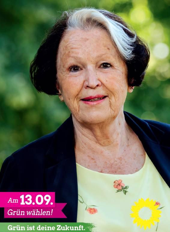 Anita Hoffmanns Wahlplakat
