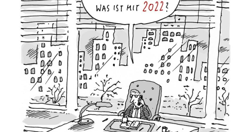 Cartoon von Til Mette